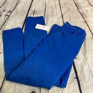 Karen Kane royal blue skinny jeans